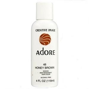 Adore Semi Permanent Hair Color 48 HONEY BROWN NEW 4 OZ  Nancy39s Beau