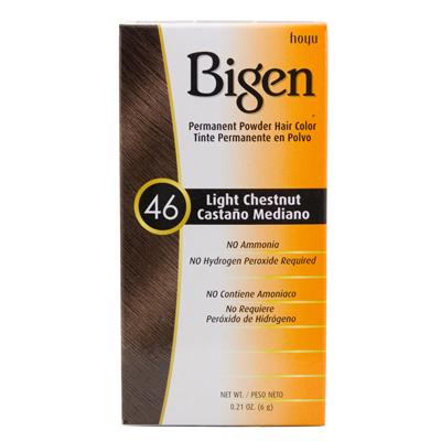Bigen Powder Hair Color 46 Light Chestnut 21 Oz Nancy