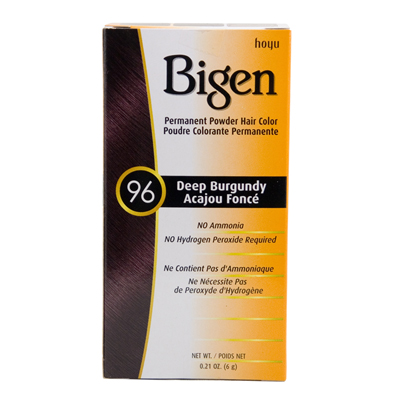 Bigen Powder Hair Color 96 Deep Burgundy 21 Oz Nancy S