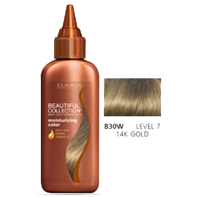 Clairol Beautiful Collection Hair Color B30w 14k Gold 3 Oz