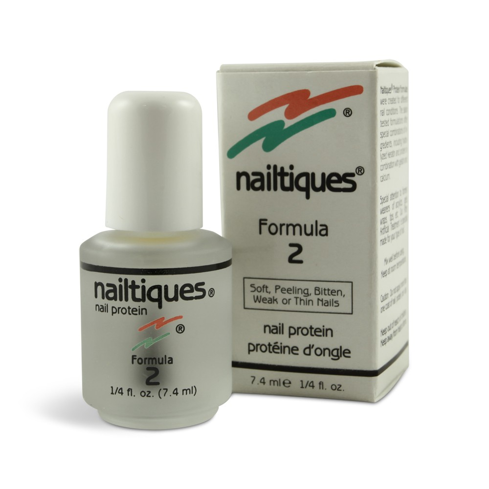 how to use nailtiques formula 2