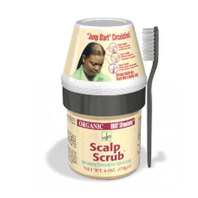 Organic scalp scrub