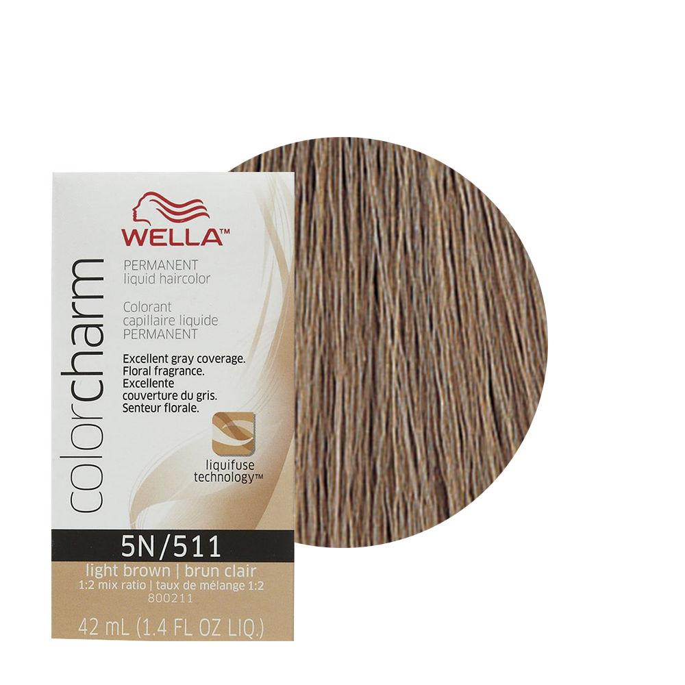 Wella Color Charm Liquid Creme Hair Color 511 Light Brown Nancys
