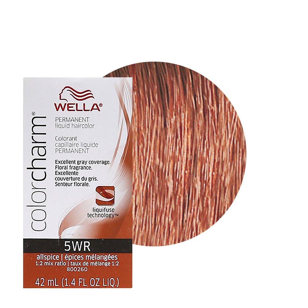 Wella Color Charm Liquid Creme Hair Color 5wr Allspice
