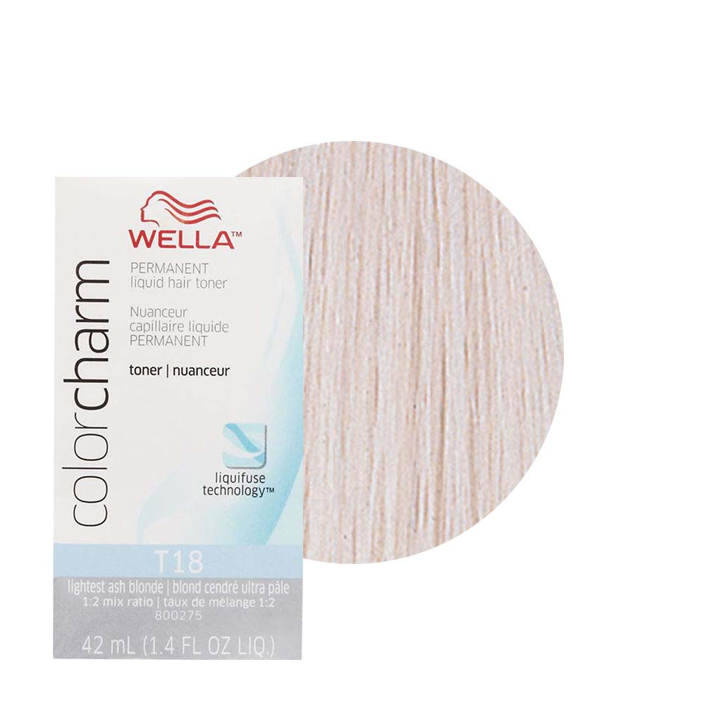 Wella Color Charm Toners Are Ideal To Create Pure Double